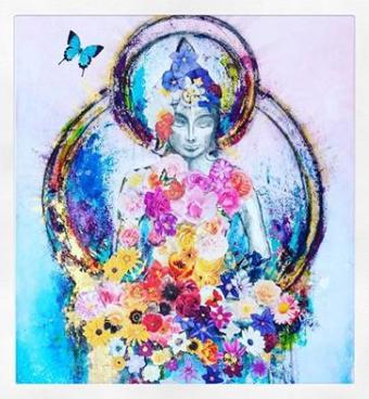 blommig-buddha